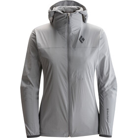 Black Diamond Alpine Start Hoody Jacket Dam nickel